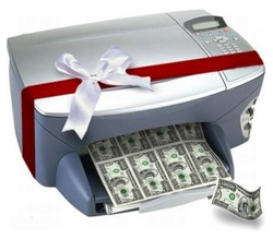 money printing machine