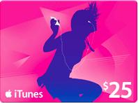 win an iTunes gift card