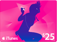 win an iTunes gift card
